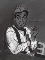 Cantinflas by elroyguerrero