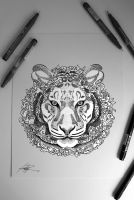 Child Heroes Doodle: Tiger by childheroes