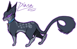 Diana doodle by thalath