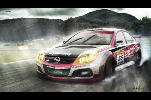 Opel Vectra BTCC Commissioned by yasiddesign