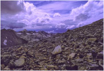 The Top of McGee Pass by THOM-B-FOTO