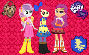 Ever After High Equestria Girls CMC by ThunderFists1988