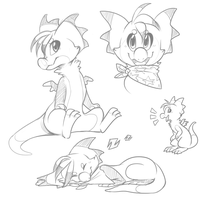 Nymble Sketches by Nestly