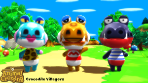 (MMD Model) Crocodile Villagers Download by SAB64