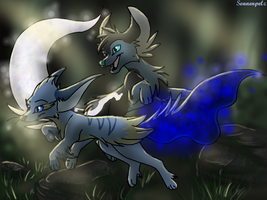 -AT- Dark forests are scary? No way! by Sonnenpelz