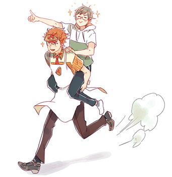 Pizza Charge! by Cioccolatodorima