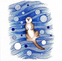 Otter by beathaart