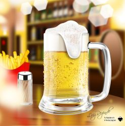 Mug beer by luizrezende