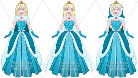 Vector OC For Sale 197 (Elsa) + 09/16 by LPDisney