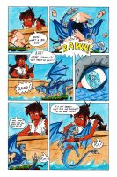 TANUKI BLADE ISSUE 001 - PAGE 3 OF 24 by Speezi