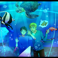 Aquarium by shadowthewolf71