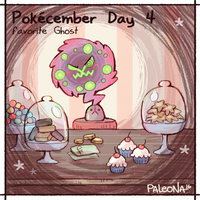 Pokecember Day 4 by Paleona