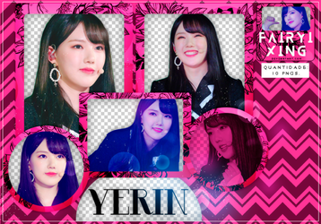 [PNG PACK #783] Yerin - GFriend (171216) by fairyixing