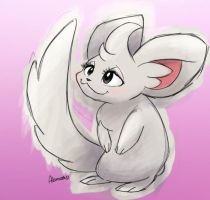 Minccino by skeletall