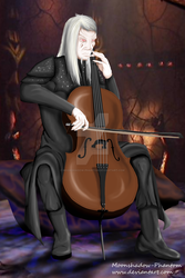 Cellist by Moonshadow-Phantom