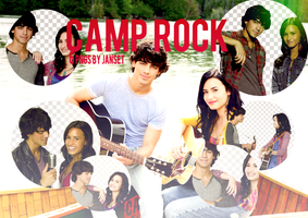 Camp Rock PNG PACK by Janset by carmenart-ca