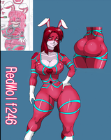 OC REQ: Bunny Ranger Red for RedWolf246 by 5ifty