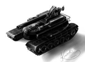 Tank Protype by Kovinsk