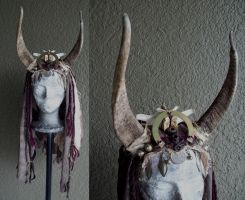Wasteland Shamaness Headdress by Xavietta