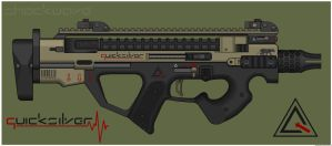 Quicksilver Industries: 'Sphinx' PDW by Shockwave9001