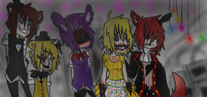 Withered Animatronics by FallenAngelKayaxx5