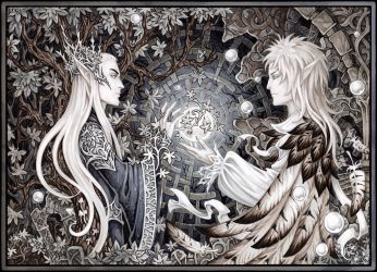 Two Kings by Candra
