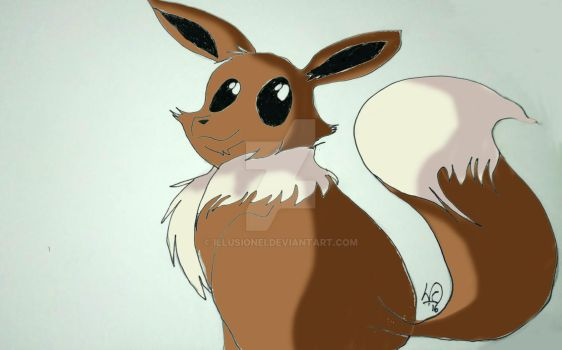 Eevee by Illusionei
