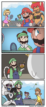 Super Crown Fan Comic by RakkuGuy