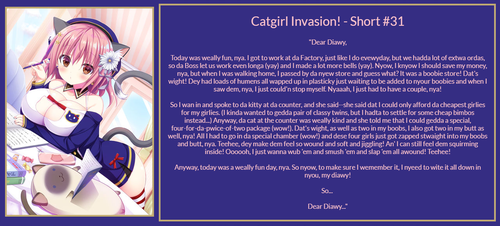 Catgirl Invasion! - Short #31 by QueenNyanlathotep