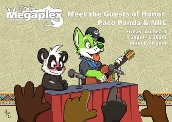 Megaplex: Meet the GoHs by pandapaco