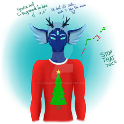 Christmas Sweater by Syramoon