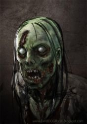 Zombie 03 by ogilvie