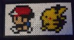 Pokemon sprite hama bead by SewManyTeddies