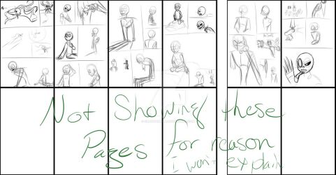 Jack's disaster sketch pages (Preview) by CrazyPamela