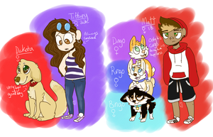 More Dog Adopts [1/2] by OrangeJuicee