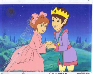 Timeless Tales From Hallmark - Thumbelina - Cel by Pikachu-Train