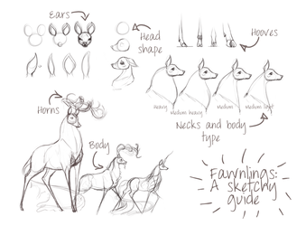 Fawnlings: A sketchy guide by Ehetere
