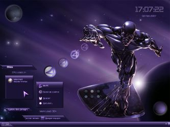 Rise Of The Silver Surfer by scubabliss