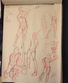 Gesture Drawings Collection 5 by jdowdy