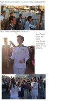MATT SMITH WITH OLYMPIC TORCH!! by RizuOfManyWolves