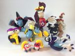 Rayman and company by Chereb666