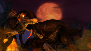 Night of the Dodorex by MullinstheGreat
