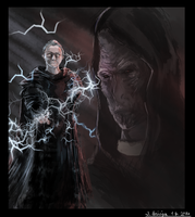 A-Z Character series - Palpatine and Plagueis by SormiPoro