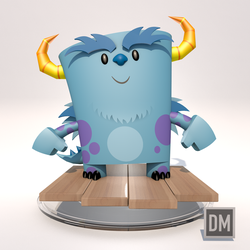 3D Sully (Cinema4D) by DanielMead