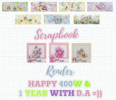 [HAPPY 400+W - 1 YEAR WITH D.A] by MiMiSoCute123