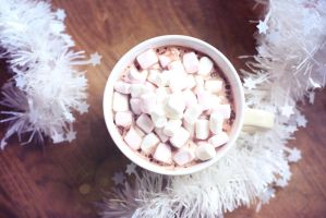 137 - Hot Chocolate With Marshmallows by ElyneNoir