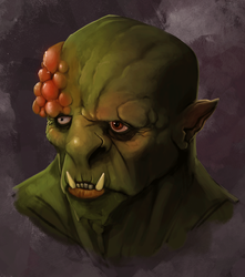Diseased Orc by EricWeathers