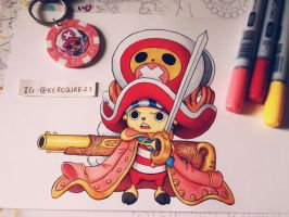 Tony Tony Chopper by kerosuke23