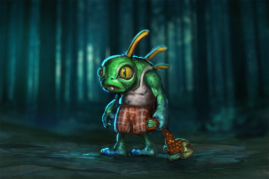 Old Murky by Tiodor
