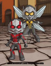 Antman and the Wasp by The-Great-Geraldo